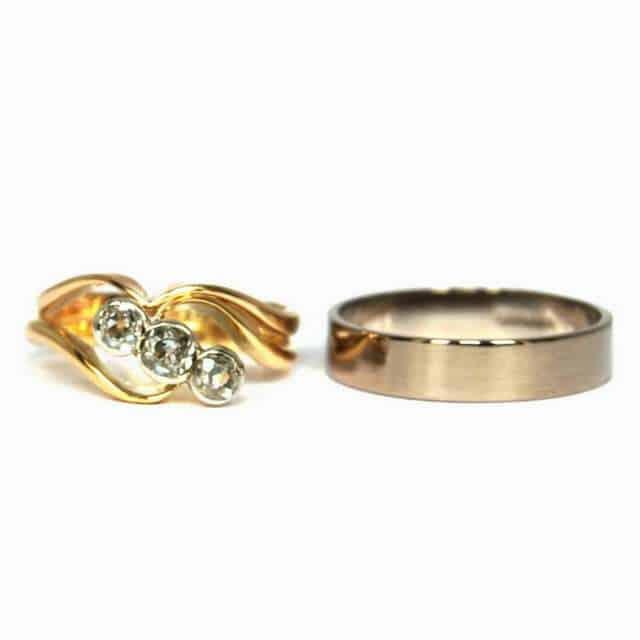 Bespoke wedding rings by Elizabeth Anne Norris