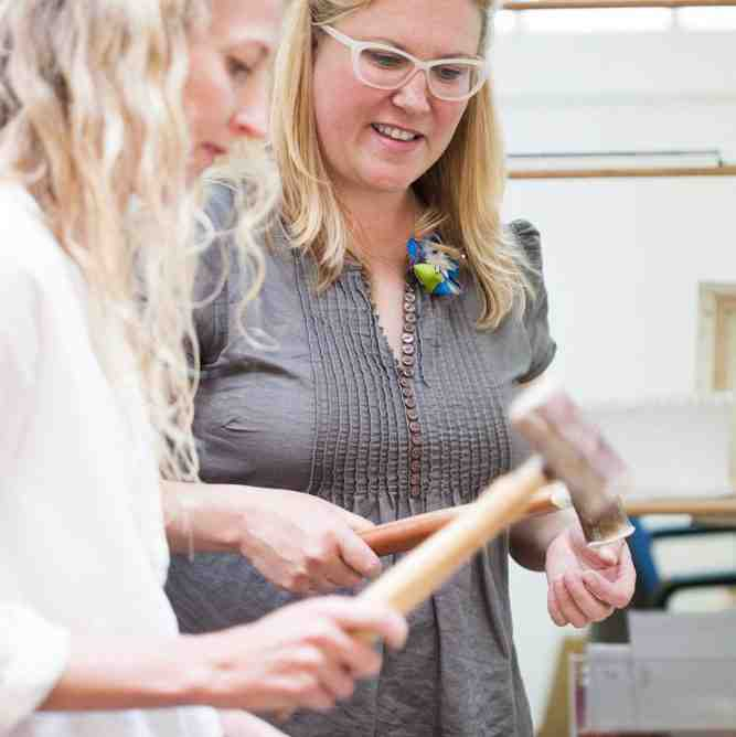 Learn Jewellery making with Elizabeth Anne Norris