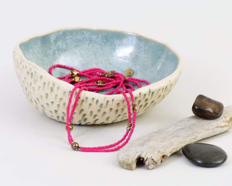Ceramic Ring Dish by Cats Ceramics