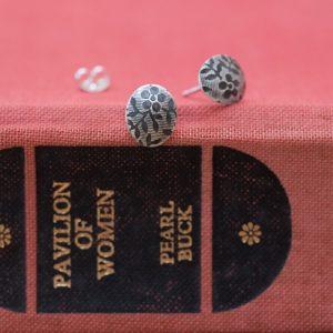vintage floral daisy earrings