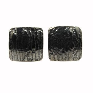 Wood Effect Black Cufflinks
