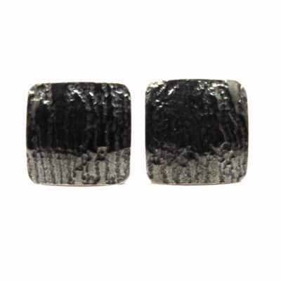 Wood Effect Black Cufflinks