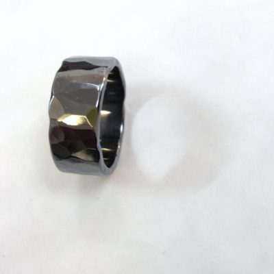 Rockstar II Black Wedding Ring
