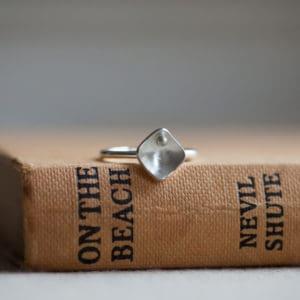 small square stacking ring - main