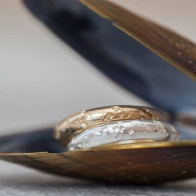 recycled gold wedding ring
