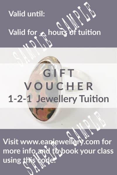 gift voucher 1-2-1 tuition