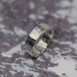 Recycled Silver Wedding Ring