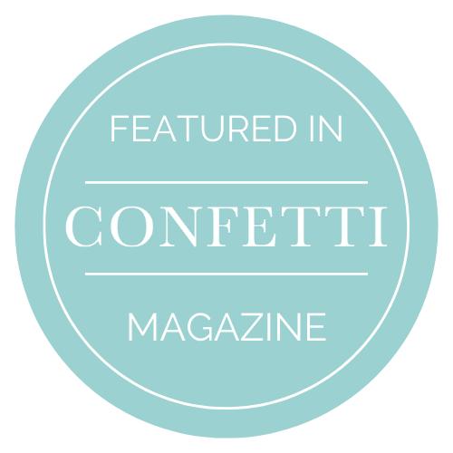 Featured in confetti magazine