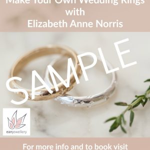 wedding ring making gift voucher sample