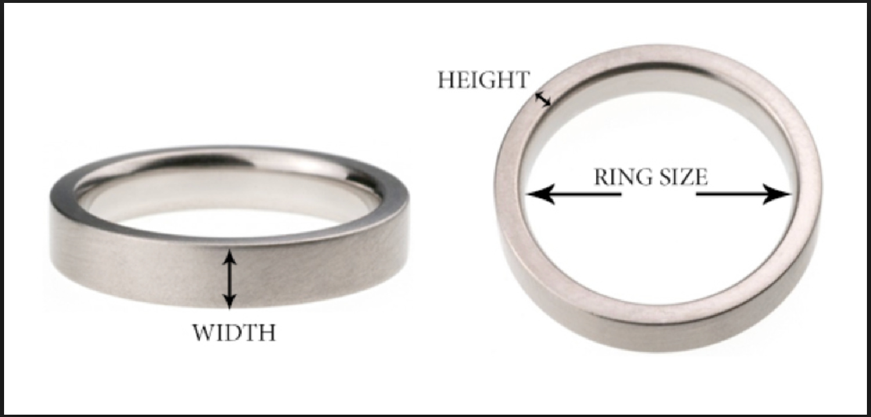 wedding ring shape post