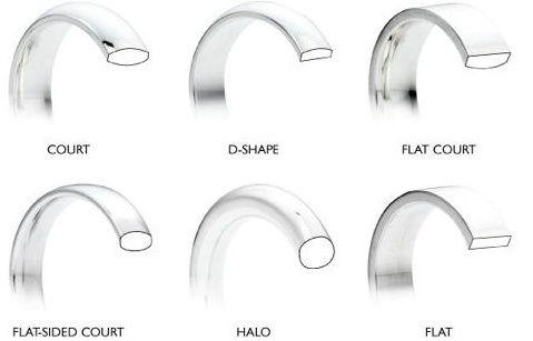 wedding ring shape