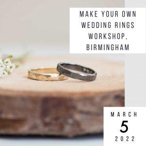 make wedding rings 5 march 2022