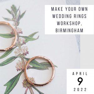 make wedding rings 9 april 2022