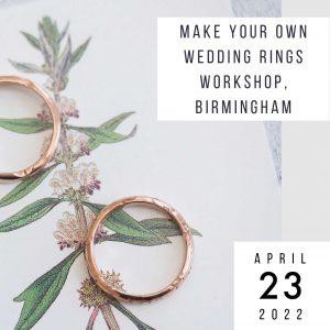 make wedding rings 23 april 2022