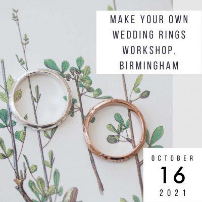 make wedding rings 16 october 2021