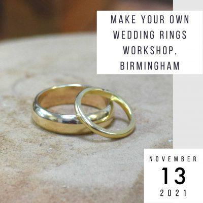 make wedding rings 13 november 2021